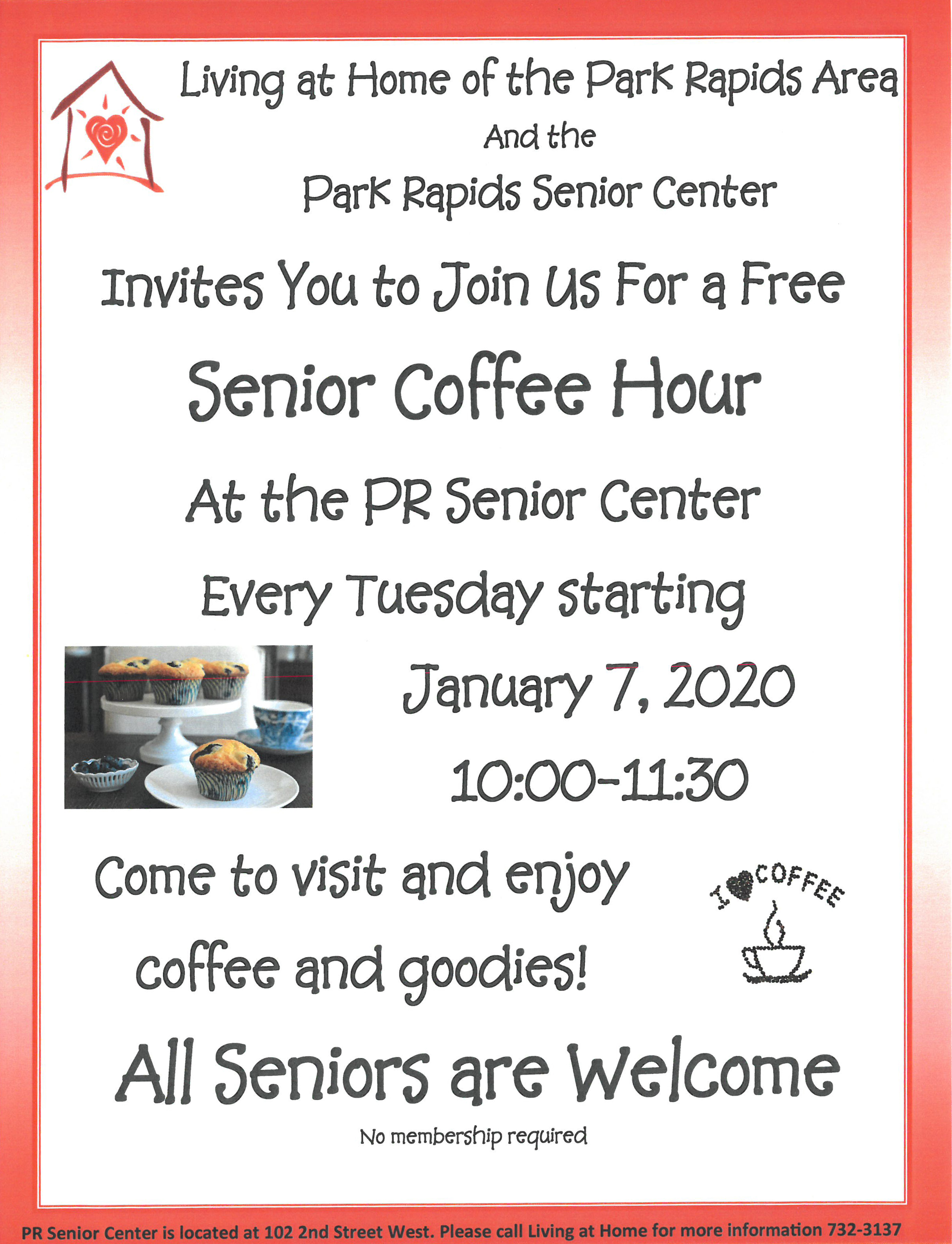 Senior Coffee Flyer